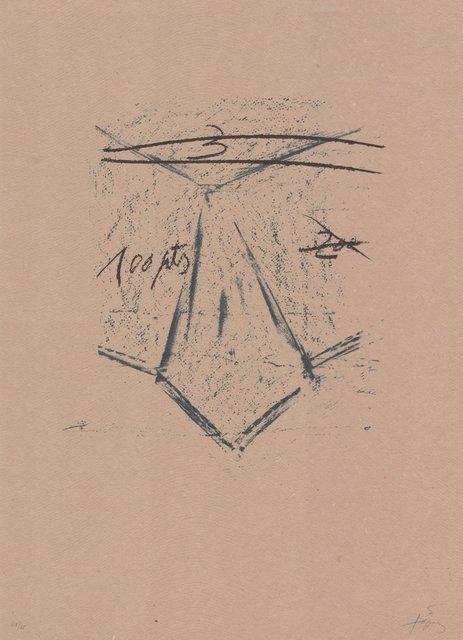 Antoni Tàpies, 'Llambrec material XII', 1970-1980, ARTEDIO