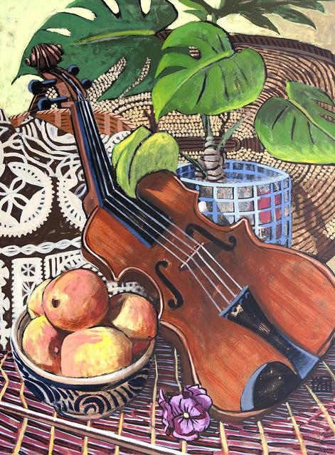 , 'Still-life with Violin,' 2017, 856G