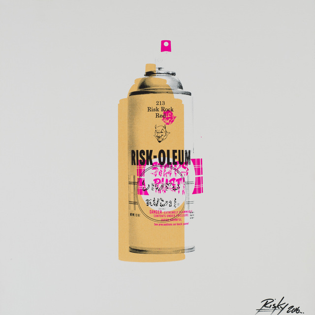 , 'Tools of the Trade ( Spray can),' 2016, Weinstein Gallery