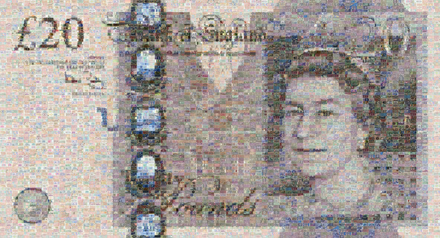 , '20 Pound Note,' 2008, Tangent Contemporary Art