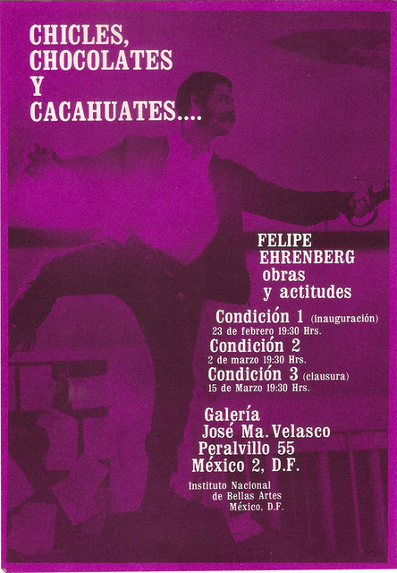 , 'Chicles, chocolates y cacahuetes (Invitacion),' 1973, Baró Galeria