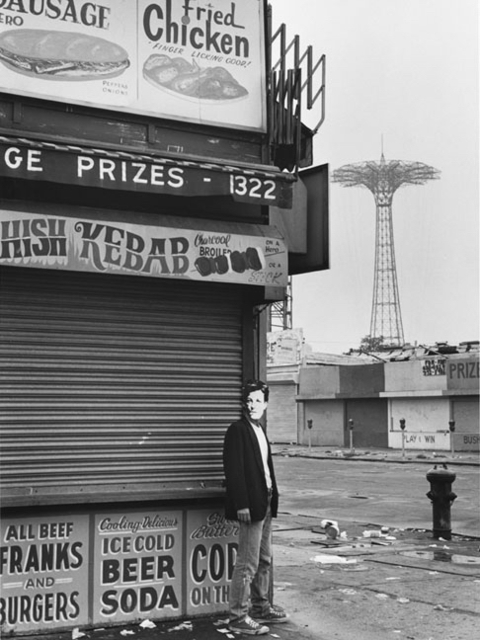 David Wojnarowicz, 'Arthur Rimbaud in New York (kebab, Coney Island)', 1978-79, Johannes Vogt Gallery