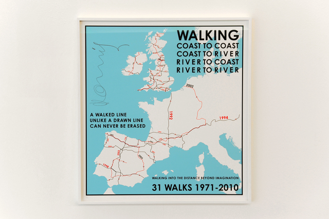 , '31 Walks,' 1971, Van der Mieden Gallery