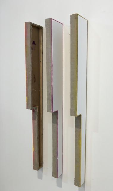 , 'Untitled (Three Part Polygon),' 2016, FOLD Gallery