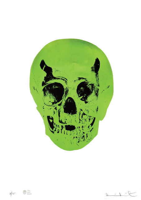 Damien Hirst, 'The Sick Dead - Lime Green/Racing Green.', 2015, Peter Harrington Gallery