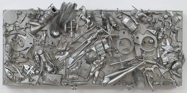, 'Silver Wars,' 2014, ODETTA