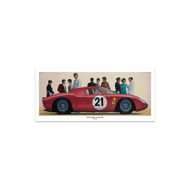 , 'Before the Race - Le Mans 1965,' 2008-2016, Whyte Fine Art