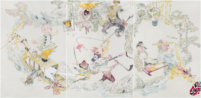 , 'Retainers of Anarchy (Taohua Island),' 2010, ART LABOR Gallery