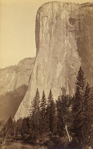 , 'El Capitan, 3300 feet., YOSEMITE, California,' mid-1880s, Scott Nichols Gallery