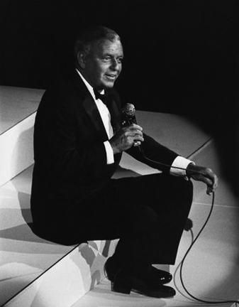 , 'Frank Sinatra at a charity concert at the Waldorf Astoria, New York,' 1983, Staley-Wise Gallery