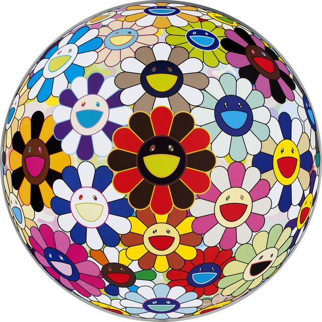 Takashi Murakami, 'Flower Ball (Lots of Colors)', 2013, Wada Garou Tokyo
