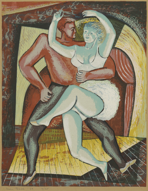 , 'Dancers,' 1939, Childs Gallery