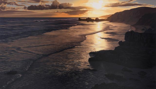 , 'Setting Sun ,' 2017, Flinders Lane Gallery
