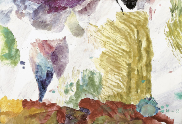 , 'Baumgruppe im Wind,' 1988, Galerie Kovacek & Zetter