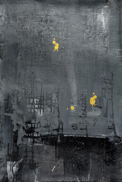 , 'Golden Human with Gray World #5 灰色世界里的小金人#5,' 2015, Alisan Fine Arts