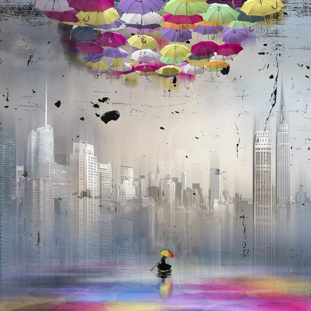 Marie-Laure Vareilles aka Maïlo, 'Colorer le Monde: Manhattan / Color The World: Manhattan', 2018, Simard Bilodeau Contemporary