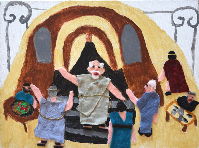, 'At the Agora,' 2016, Fountain House Gallery