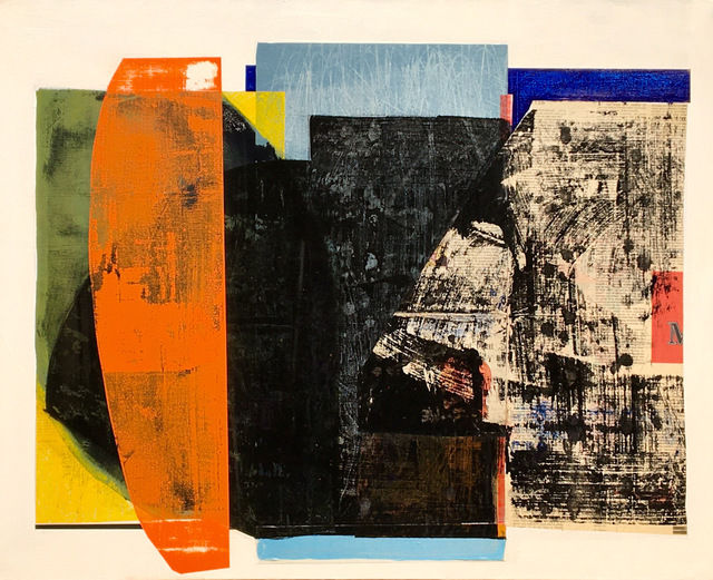 Eric Bohr, 'John's Boat', 2020, Painting, Mixed media on canvas, Slate Contemporary
