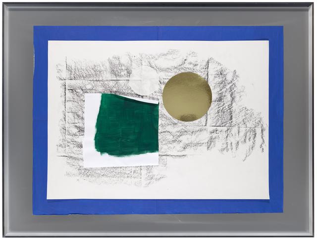 , 'Surcollage d'atelier #1 - série paléolithique, Surcollage d'atelier #1 - série Frottage-sol 'Galerie nächst St.Stephan Rosemarie Schwarzwälder' 2008-2016,' 2016, Galerie nächst St. Stephan Rosemarie Schwarzwälder