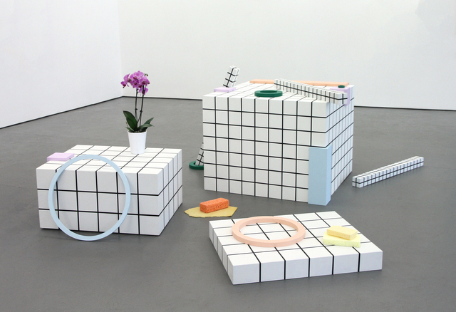 , 'Grand ensemble,' 2017, Galerie Antoine Ertaskiran