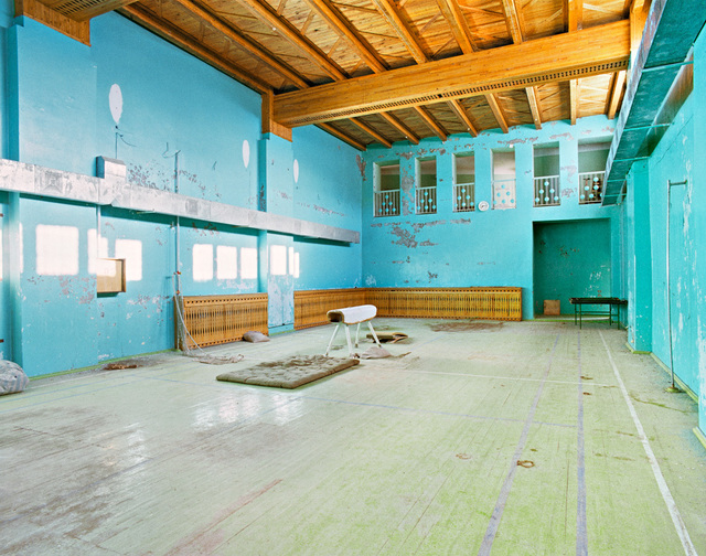 ", 'Gymnastic Hall, Swimming Hall, 78°39'20.9""N 16°18'24.1""E Pyramiden, Svalbard, Summer, 25 August, 2016,' 2016, Benrubi Gallery"
