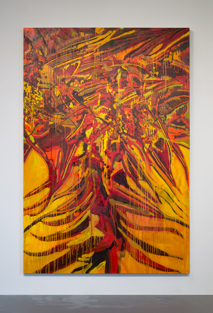 Rob Ventura, 'Fire Lily (Gloriosa Superba)', 2017, Painting, Oil and Beeswax on linen, PROTO Gallery