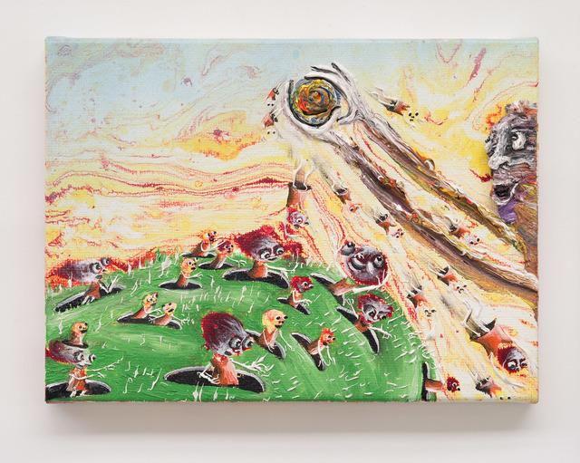 , 'Les créatures des cratères,' 2012, Galerie Laurent Godin