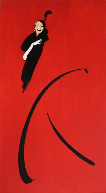 René Gruau, 'Woman in Black Dress', ca. 1970, Print, Lithograph, RoGallery