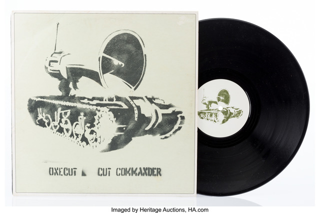 Banksy, 'OneCut- Cut Commander', 1998, Heritage Auctions