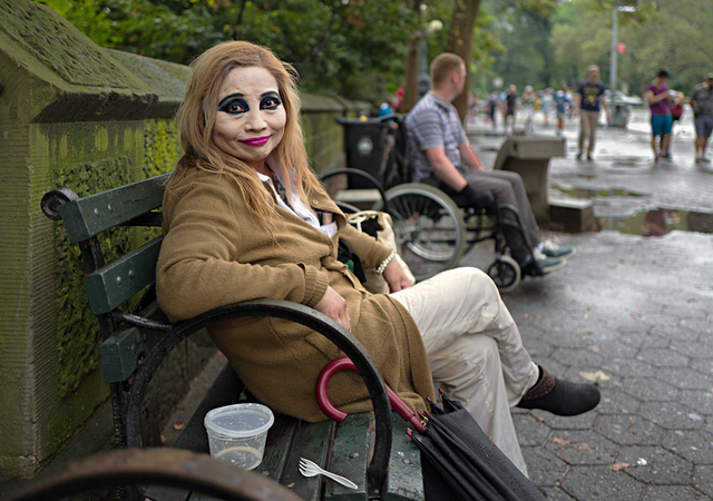 , 'Lady With Makeup, Central Park,' , Soho Photo Gallery