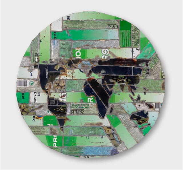 , 'Mappemonde,' , Dvir Gallery