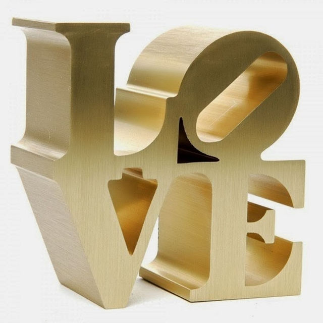 , 'LOVE (Artist Authorized Museum Replica) Stamped with Artist's Copyright & Indianapolis Museum of Art/2011 Morgan Art Foundation/ARS, NY,' 2009, Alpha 137 Gallery