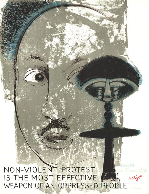 , 'Homage to Martin Luther King,' 1970, ArtWise