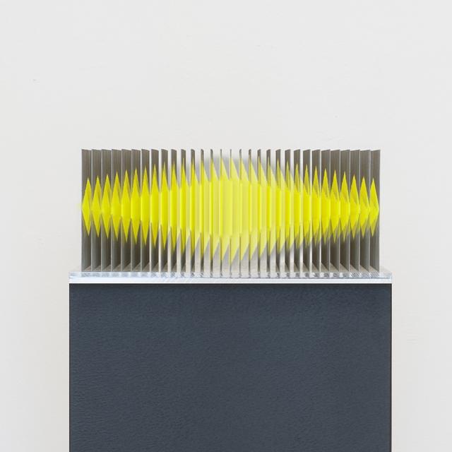 , 'Neongelb 12 Flächen Objekt,' 2017, Joerg Heitsch Gallery