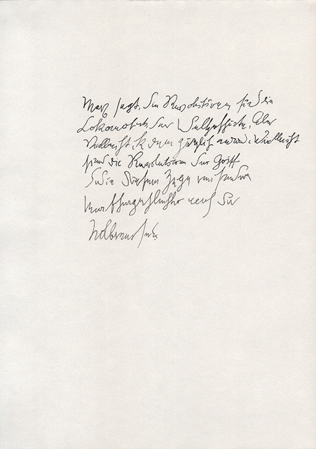 , 'La letra de B,' , Isla Flotante