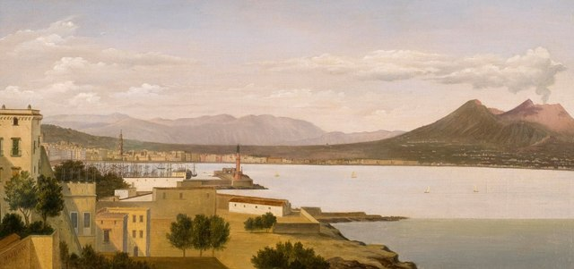 , 'View of the Bay of Naples,' , DICKINSON