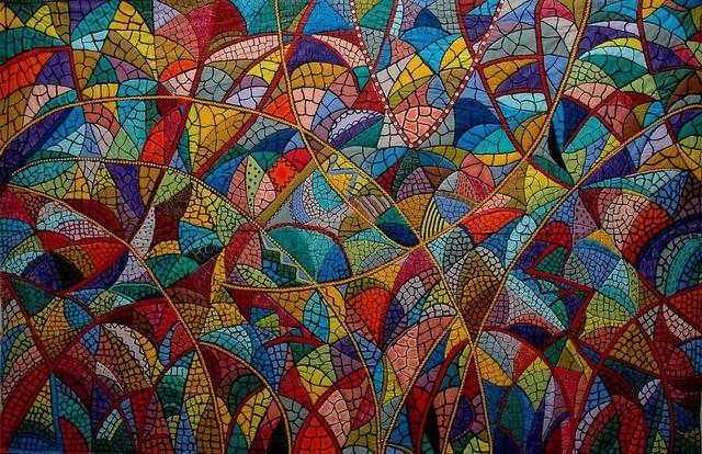 , 'Spider web,' 1985, Pacita Abad Art Estate