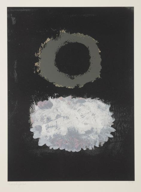 Adolph Gottlieb, 'Black Field', 1972, Hindman