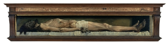 , 'The Dead Christ in the Tomb,' 1521-1522, Kunstmuseum Basel