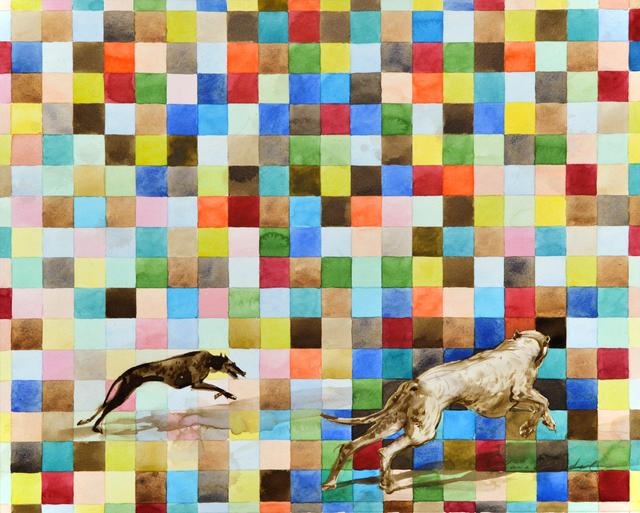 , 'Hundeträume,' 2018, Joerg Heitsch Gallery
