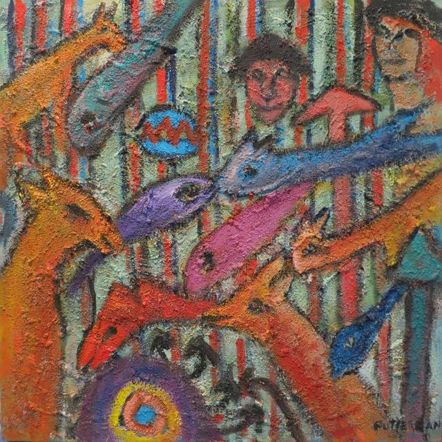 , 'Riddling Legends XI,' , Walter Wickiser Gallery
