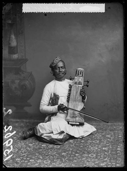 London Stereoscopic Co., 'Sarangi Player', 1885, Getty Images Gallery