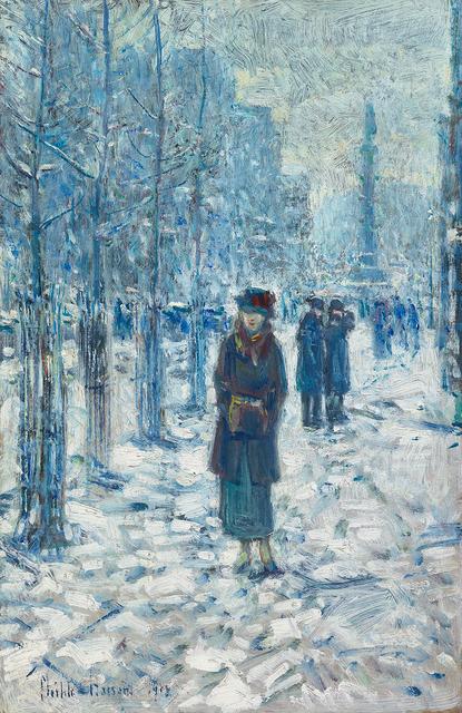 , 'Kitty Walking in the Snow,' 1918, Questroyal Fine Art