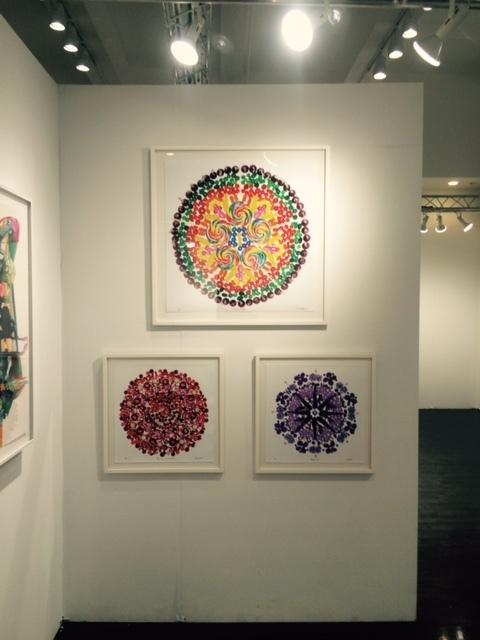 Elisa Contemporary Art at Affordable Art Fair Fall 2015, Booth 2.04.  Candalas, limited edition photographs, by Paula Brett