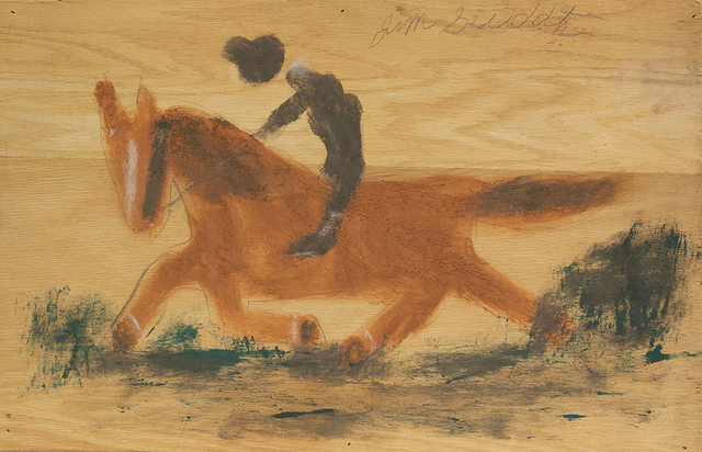 , 'Untitled (Horse and Rider) ,' ca. 1989, David Lusk Gallery