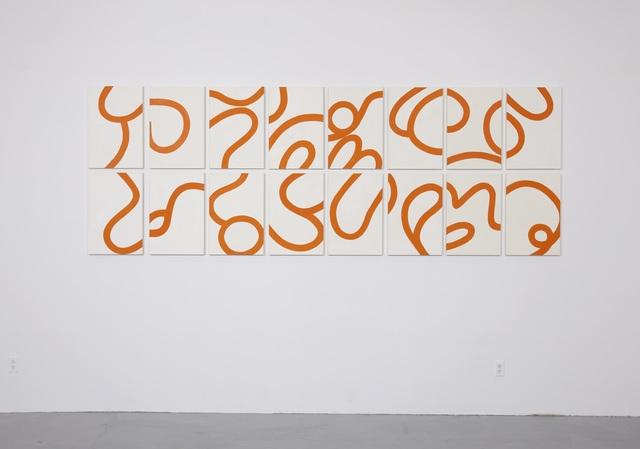 , 'Loop x 16,' 2012, SILAS VON MORISSE gallery