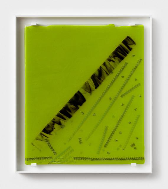 , 'Green &,' 2018, Rachel Uffner Gallery