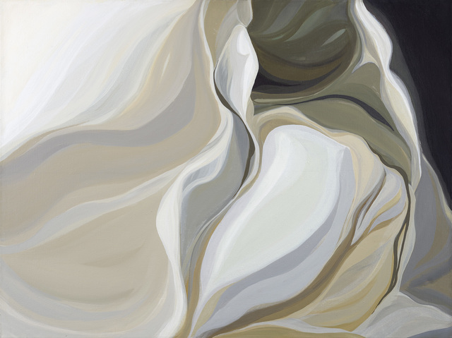 Lilian Thomas Burwell, 'Arctic Flow', 1983, Painting, Acrylic on linen, Berry Campbell Gallery