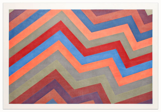 , 'Irregular Bands with Colors Superimposed,' 1994, Alan Cristea Gallery