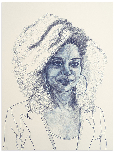 Patty Horing, 'Melanie', 2017, Anna Zorina Gallery